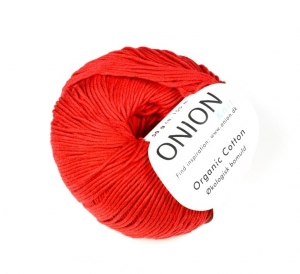 106 Onion Organic Cotton Röd