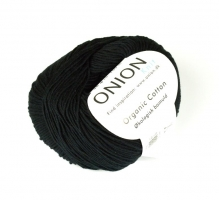 104 Onion Organic Cotton Svart