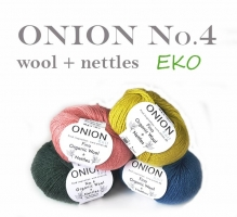 Onion No.4 Organic Wool + Nettles
