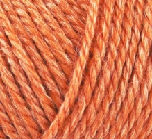 815 Onion No.4 Organic Wool+Nettles Orange