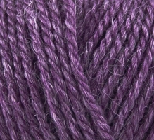 819 Onion No.4 Organic Wool+Nettles Lila